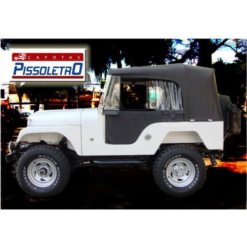 Capota Pissoletro Conversível para Jeep Willys CJ5  de 1955 a 1983