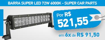 Barra Super Led 72W 6000K